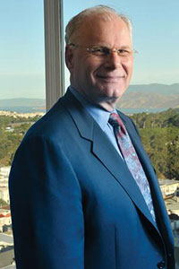 Mark Laret, CEO UCSF Medical Center and the UCSF Benioff Children's Hospitals, oversees an expanding Bay Area empire.  Spencer Brown