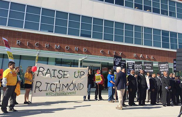 Richmond Rally March Demands Community Benefits Agreement From