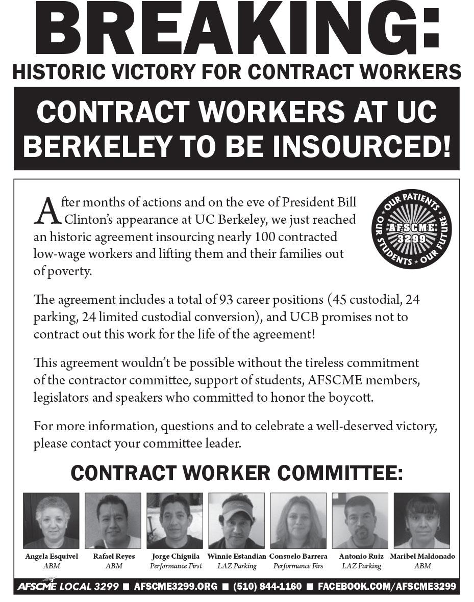 UCB Victory Boycott Canceled