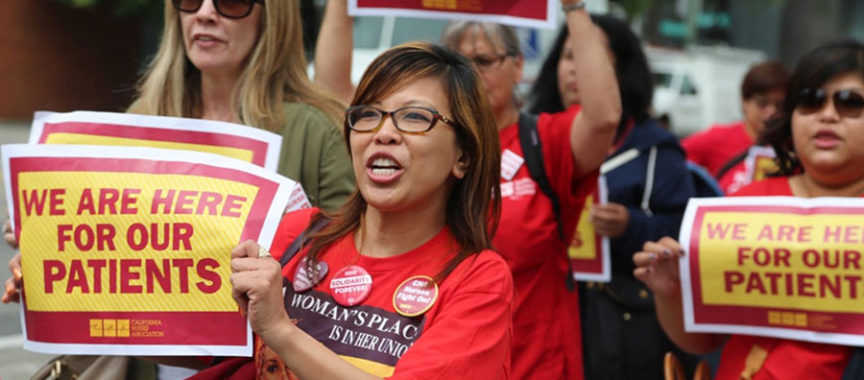 Registered Nurses Say Patient Safety Sparks Today's UCI Medical Center Rally