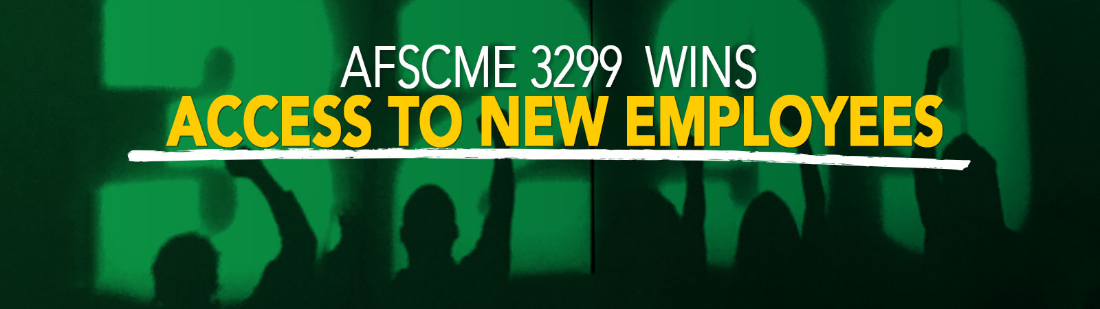 3299 Wins Access to New Employees