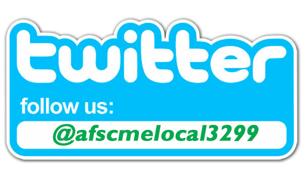 Follow AFSCME 3299 on Twitter